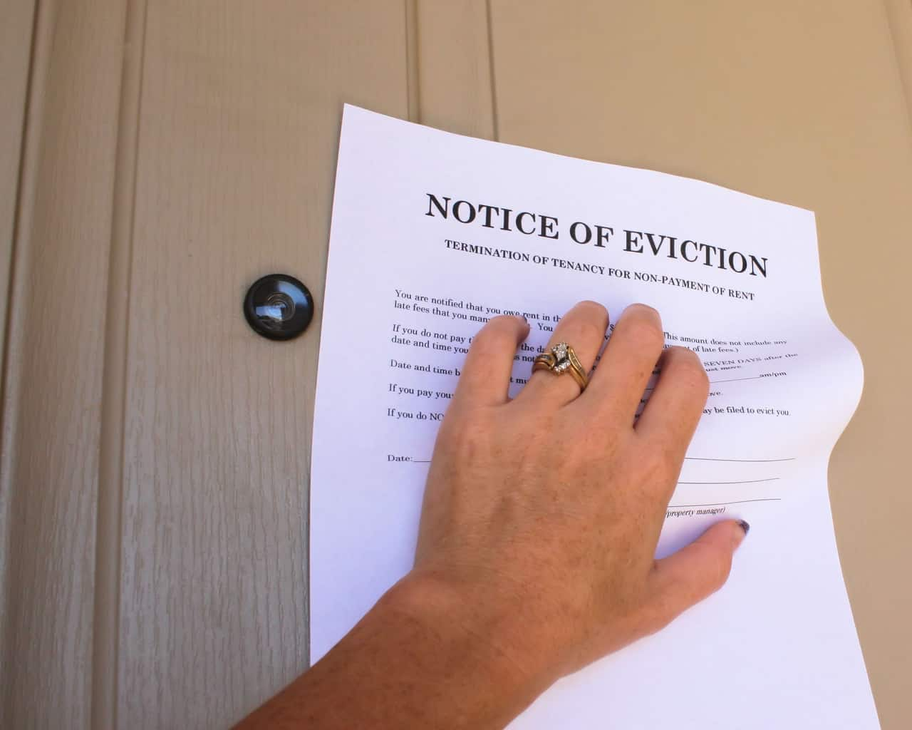 Free Notice to Vacate
