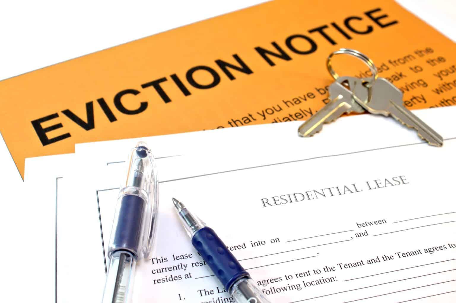 Arlington TX eviction
