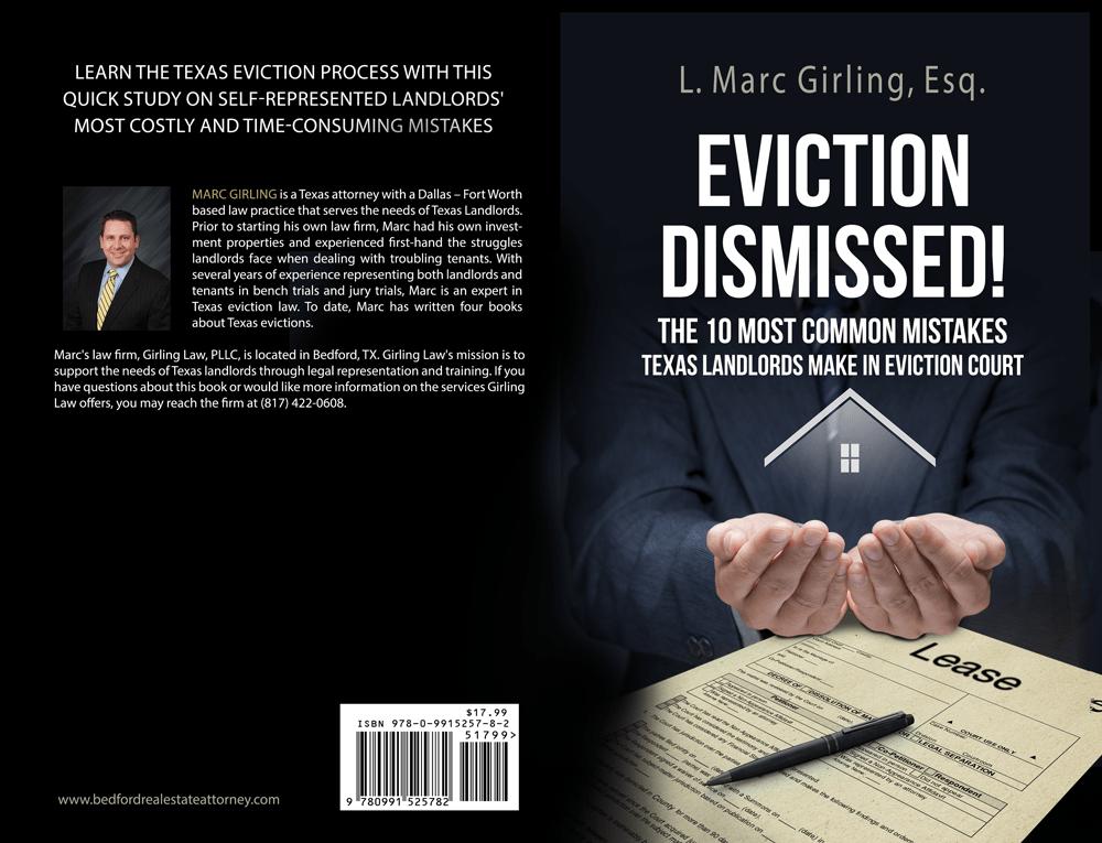 Eviction Dismissed - Cover Design